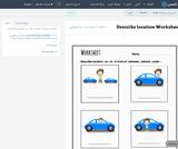 Describe location Worksheet