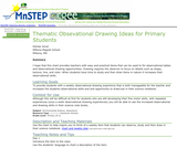 Thematic Obsevational Drawing Ideas for Primary Students