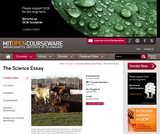 The Science Essay, Spring 2009