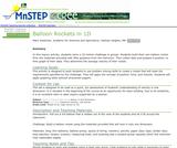 Balloon Rockets in 1D