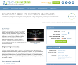 Life in Space: The International Space Station
