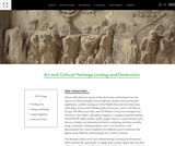 Art and Cultural Heritage Looting and Destruction